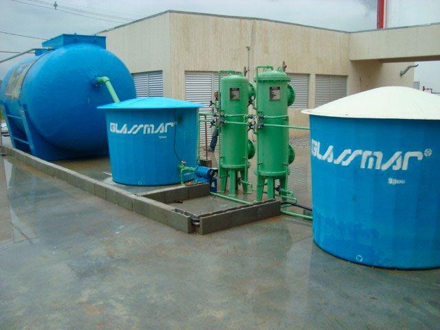 Sistema de água de reuso