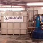 Estação de tratamento de água cinza