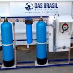Instalação de sistema de captação de água da chuva