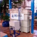 Locação de estação de tratamento de água